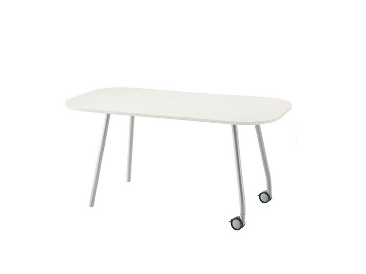 Meeting table with casters BLOG | Meeting table by Sesta