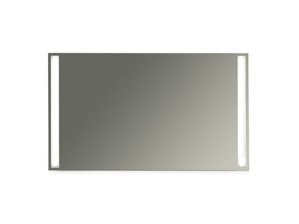 Wall-mounted bathroom mirror with integrated lighting MEG11 - 120 x 70 by GALASSIA