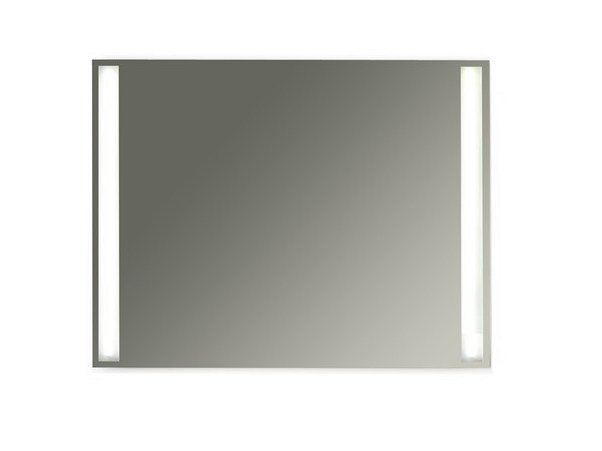 Wall-mounted bathroom mirror with integrated lighting MEG11 - 90 x 70 by GALASSIA