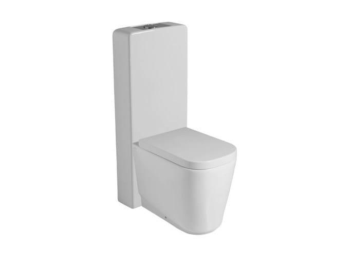 Close coupled ceramic toilet MEG11 | Close coupled toilet by GALASSIA