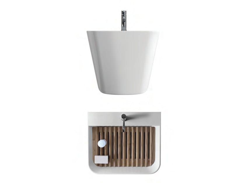 Lavabo lavatoio in ceramica meg11 collezione meg11 by for Galassia ceramica