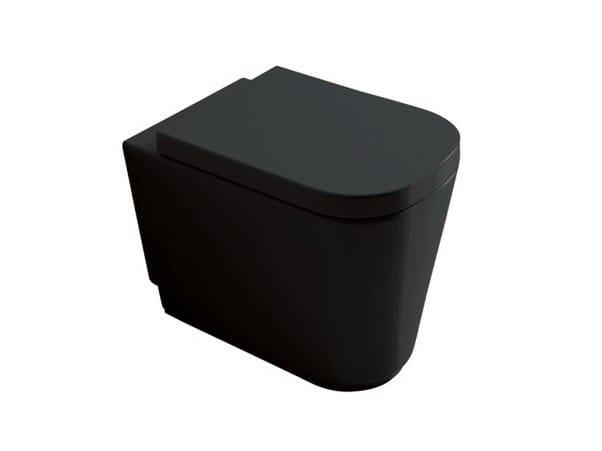 Ceramic toilet MEG11 | Toilet by GALASSIA