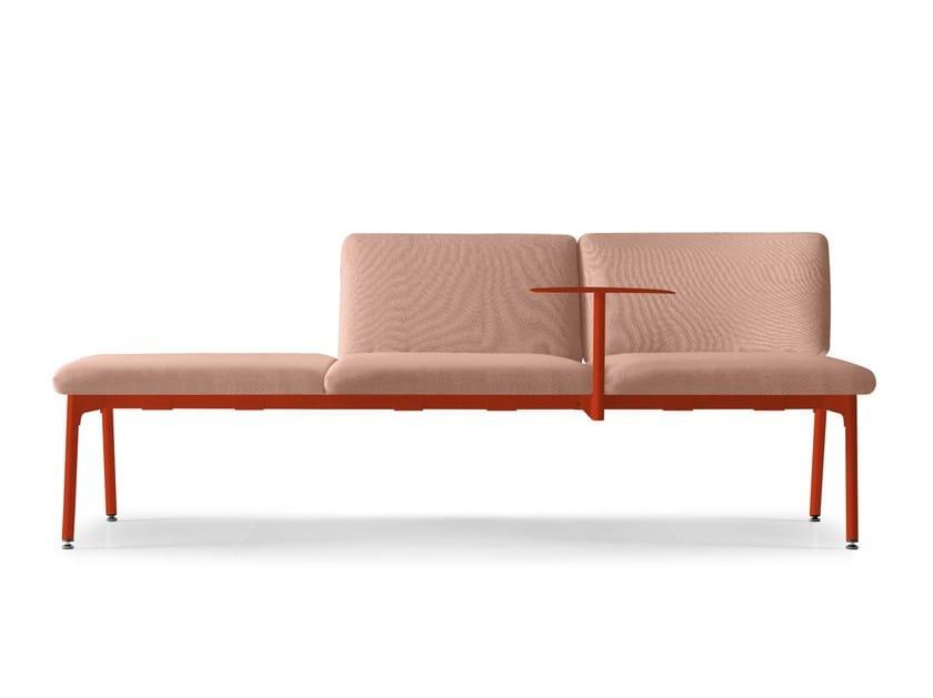 Divano componibile in tessuto per contract mega by quinti - Prodotti per pulire il divano in tessuto ...