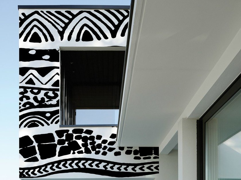 Motif outdoor wallpaper MEHNDI by Wall&decò