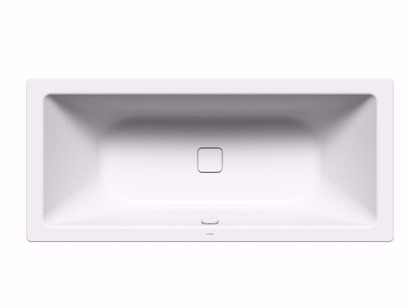 Rectangular built-in enamelled steel bathtub MEISTERSTÜCK CONODUO 2 by Kaldewei Italia