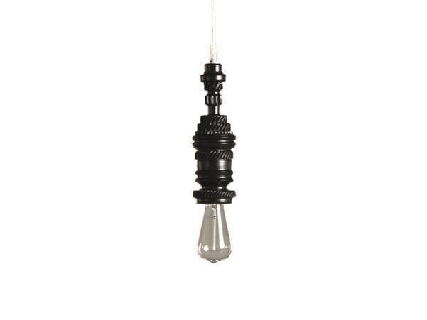 Direct light ceramic pendant lamp MEK | 3 by Karman