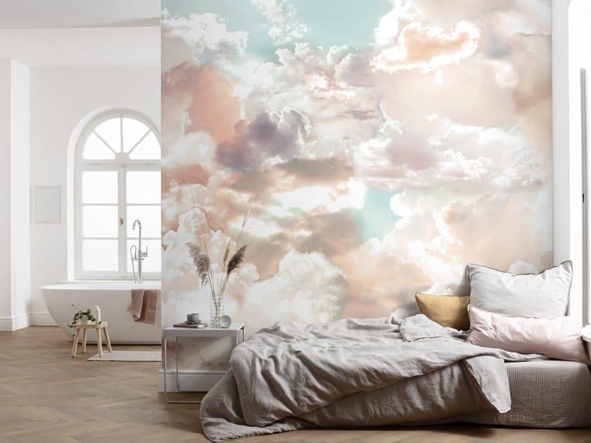 Motif nonwoven wallpaper MELLOW CLOUDS by Komar