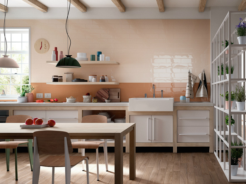 Single-fired ceramic wall tiles MELLOW by MARAZZI