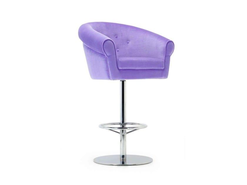 Swivel stool MELT STOOL | Stool by Domingo Salotti