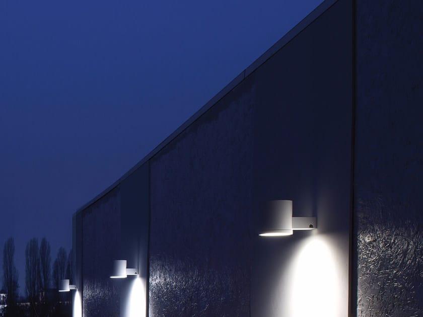 Lampada da parete a luce diretta in alluminio MELTING POT by GLIP by S.I.L.E