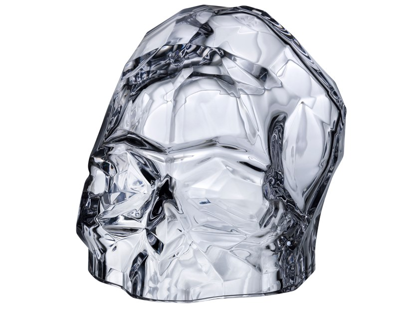 Crystal decorative object MEMENTO MORI L by NUDE