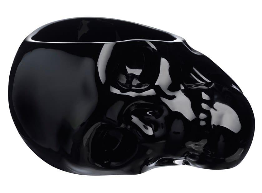 Crystal serving bowl MEMENTO MORI L | Serving bowl by NUDE