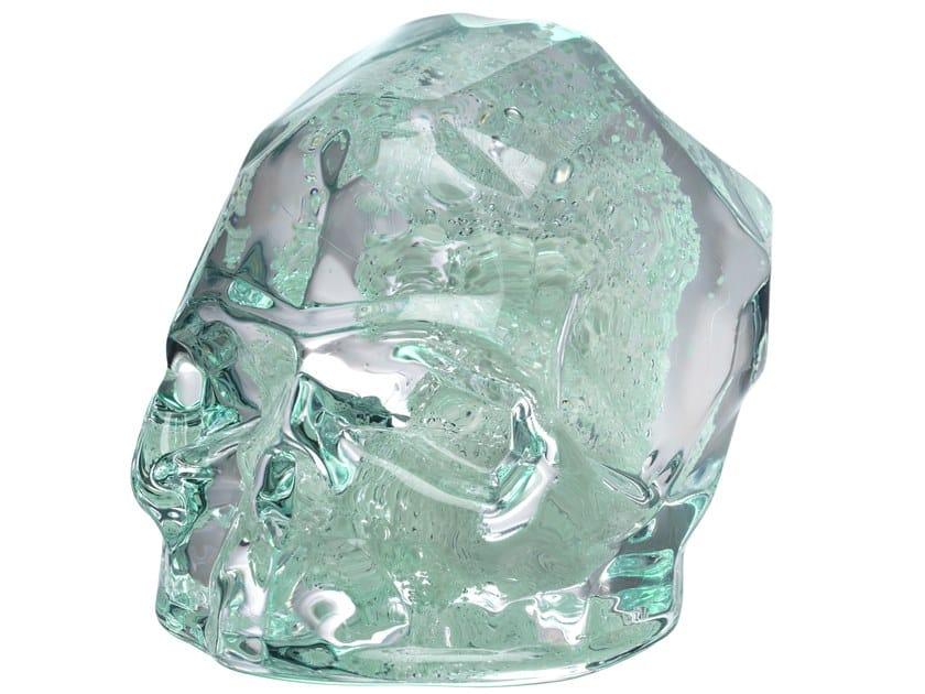 Crystal decorative object MEMENTO MORI S - LUMINOUS by NUDE
