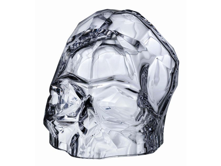 Crystal decorative object MEMENTO MORI S by NUDE