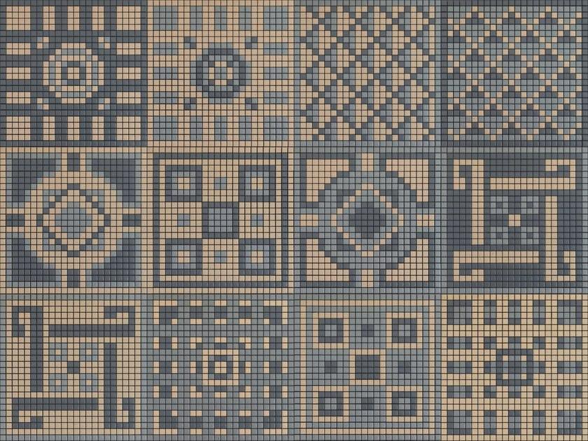 Ceramic mosaic MEMORIA 07 by Appiani