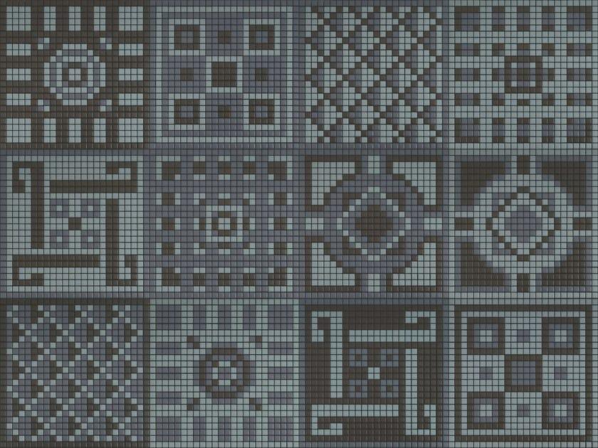 Ceramic mosaic MEMORIA 09 by Appiani