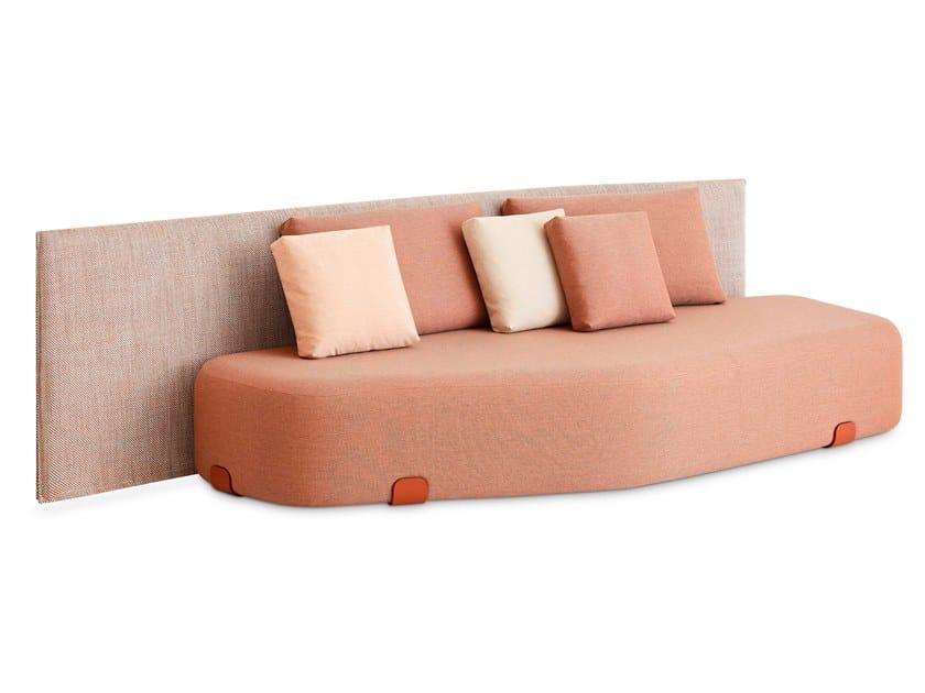 Technical fabric garden sofa ISLA MENORCA by GAN