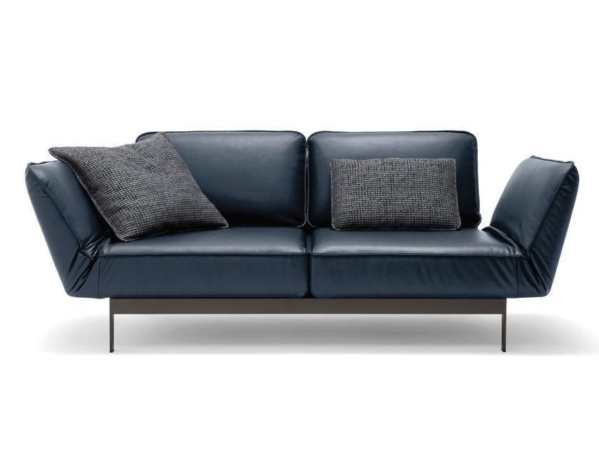 MERA   Leather sofa Mera Collection By Rolf Benz design BECK DESIGN