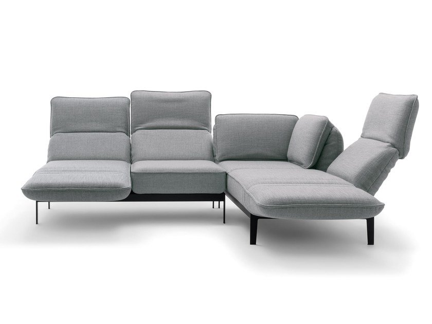 Mera corner sofa mera collection by rolf benz design for Benz couch