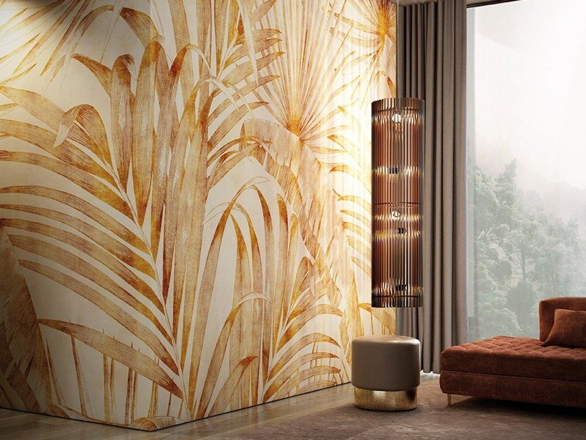 Tropical wallpaper MERIDIANA by GLAMORA