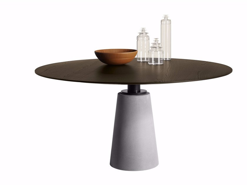 Round table MESA DUE | Table by Poltrona Frau