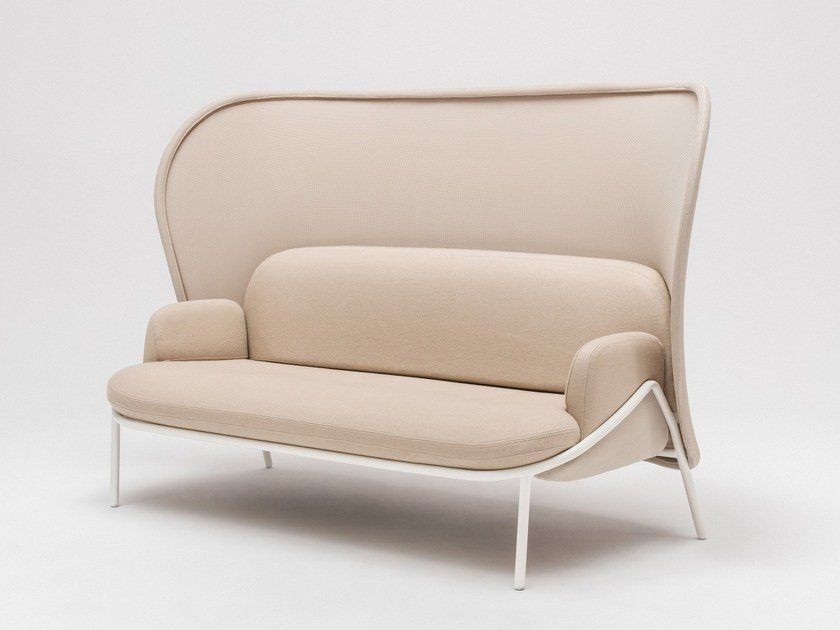 Upholstered High Back Armchair Alcove Highback Work By Vitra Design Ronan Erwan Bouroullec Alberto Meda