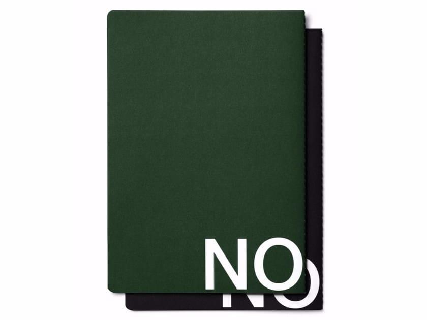 Paper notebook MESS by NOMESS COPENHAGEN