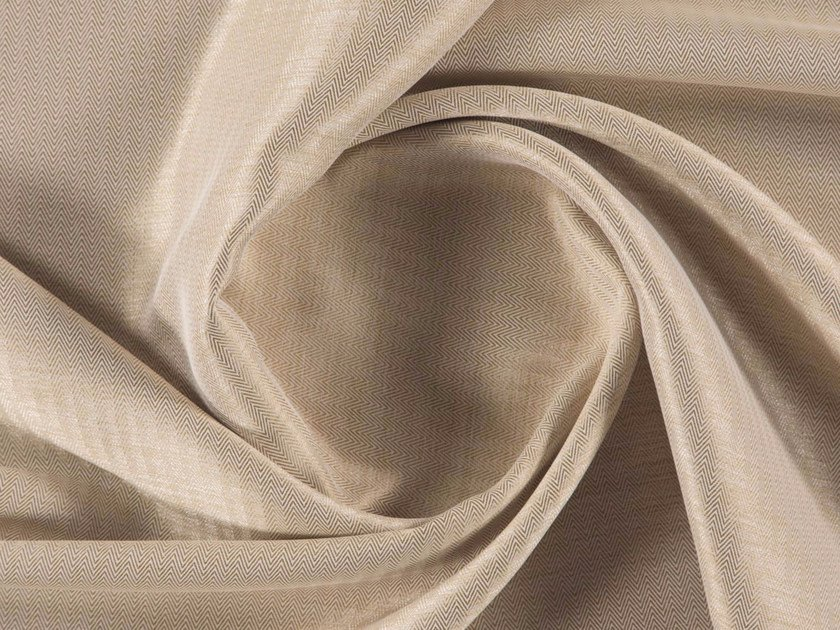 Dimming tweed polyester fabric for curtains MESSNER by More Fabrics