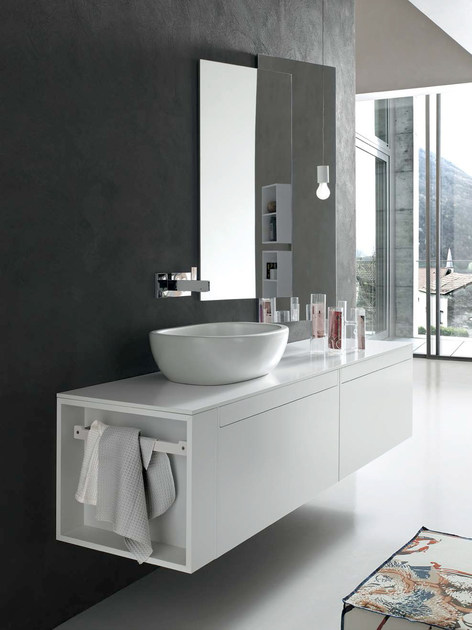 Bathroom Cabinet / Vanity Unit META   COMPOSITION 1 By Arcom