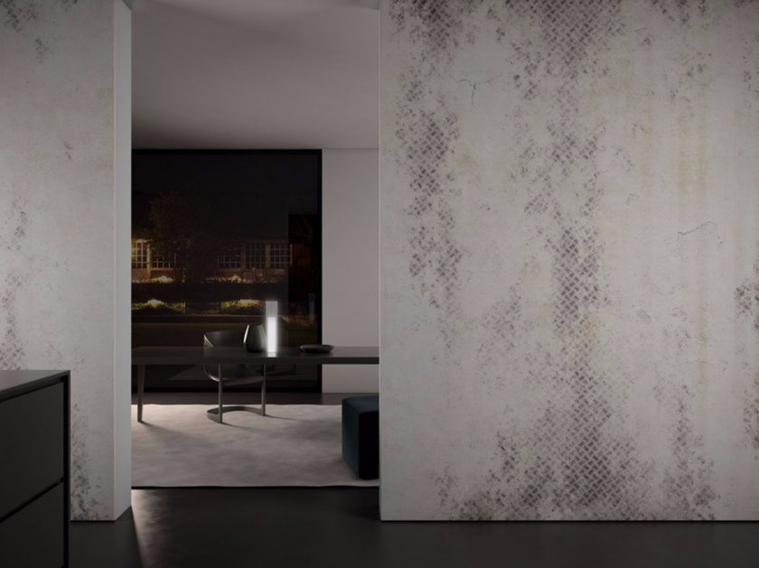 Washable vinyl wallpaper METAL BLEND by GLAMORA