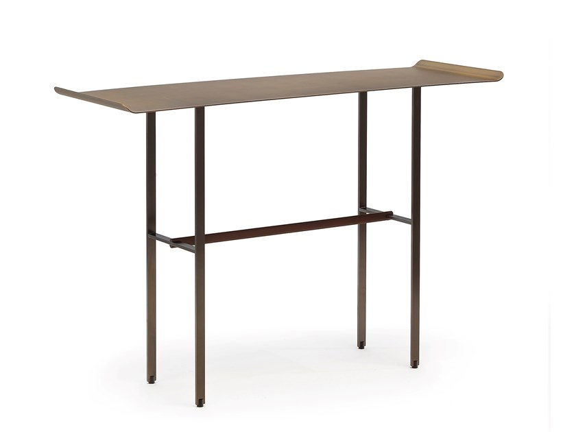 Rectangular metal console table SISTERS | Metal console table by COEDITION