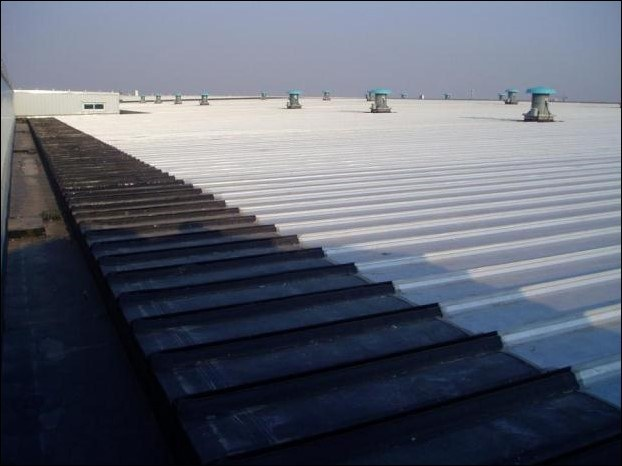 Metal sheet and panel for roof Metal repairs by Firestone Building Products
