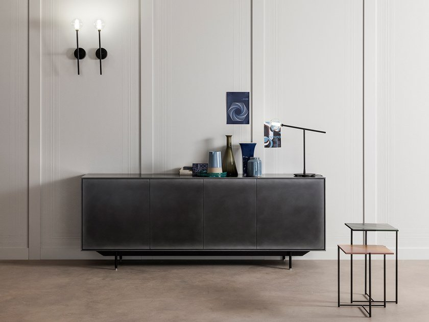 Resin sideboard ATENEO | Sideboard with doors by Capo d'Opera