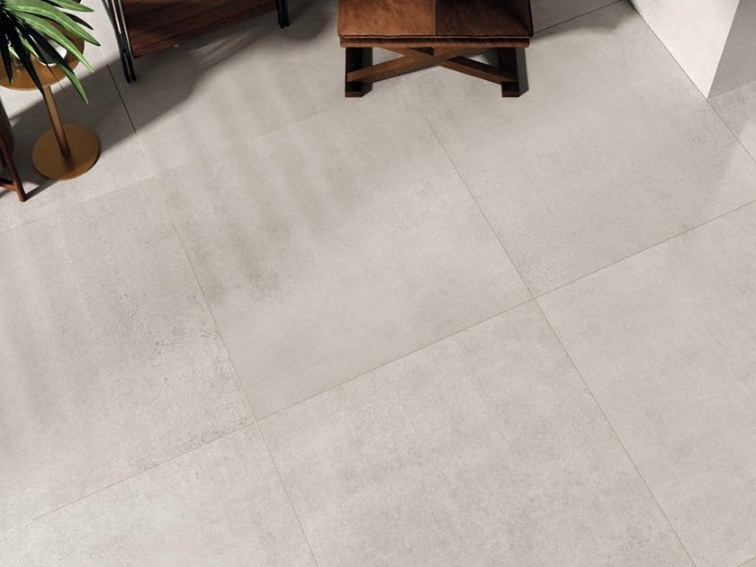 Porcelain stoneware wall/floor tiles with metal effect METALLO AG by Ceramica d'Imola