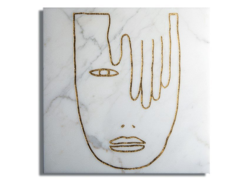 Rivestimento in marmo per interni METAMORPHOSES T01 by SAGEVAN MARMI