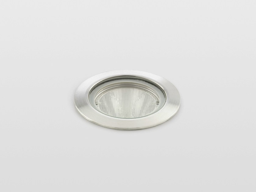 Walkover light outdoor stainless steel steplight METAMORPHOSI | Walkover light steplight by Reggiani