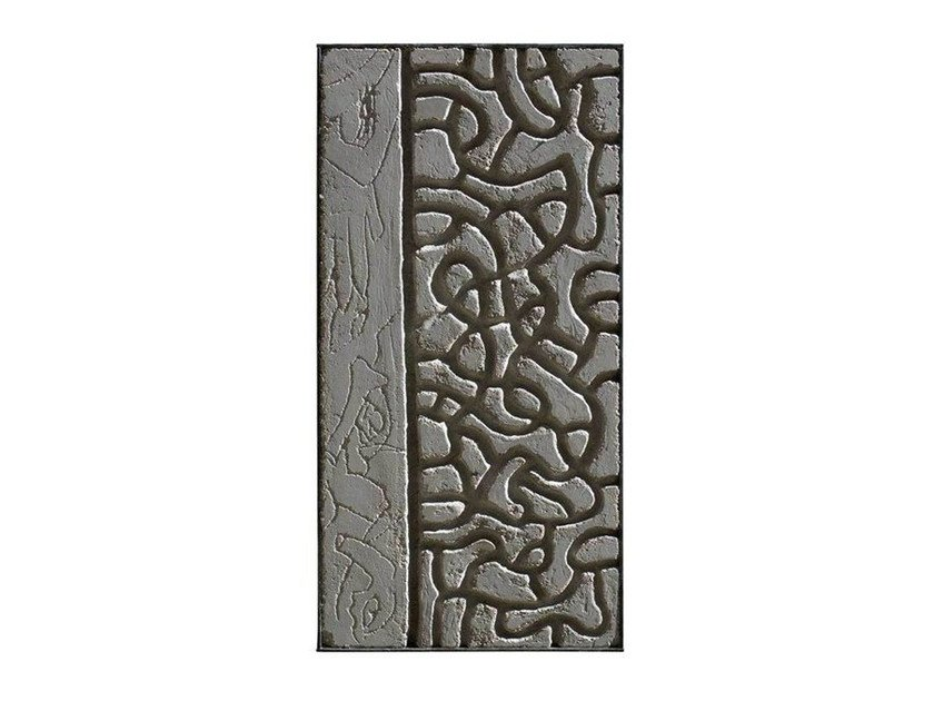Cement sculpture METOPE VI by Kiasmo