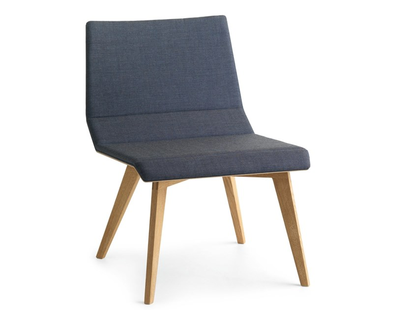 Fabric easy chair METRIA LAZY | Fabric easy chair by Passoni