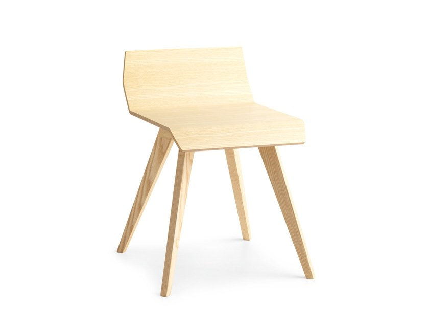 Wooden stool METRIA   Wooden stool by Passoni