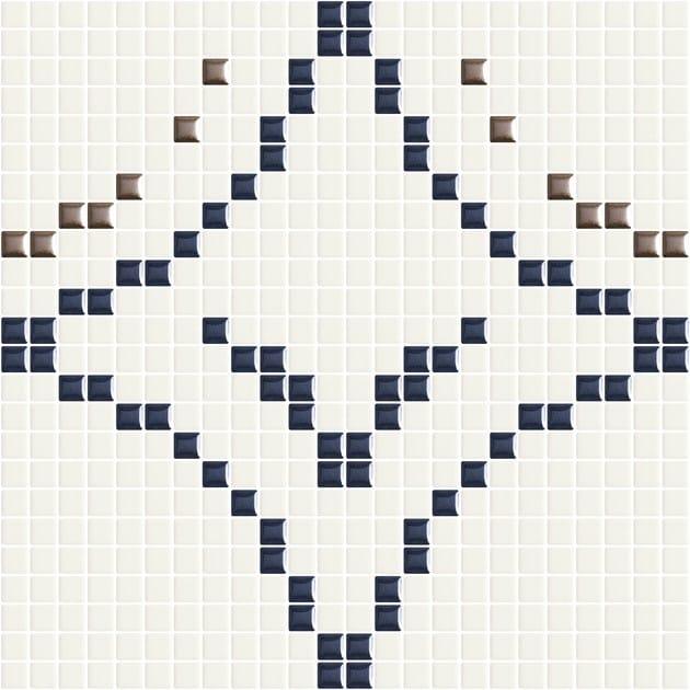 Mosaico in ceramica METRICA CERCHI 003 by Appiani