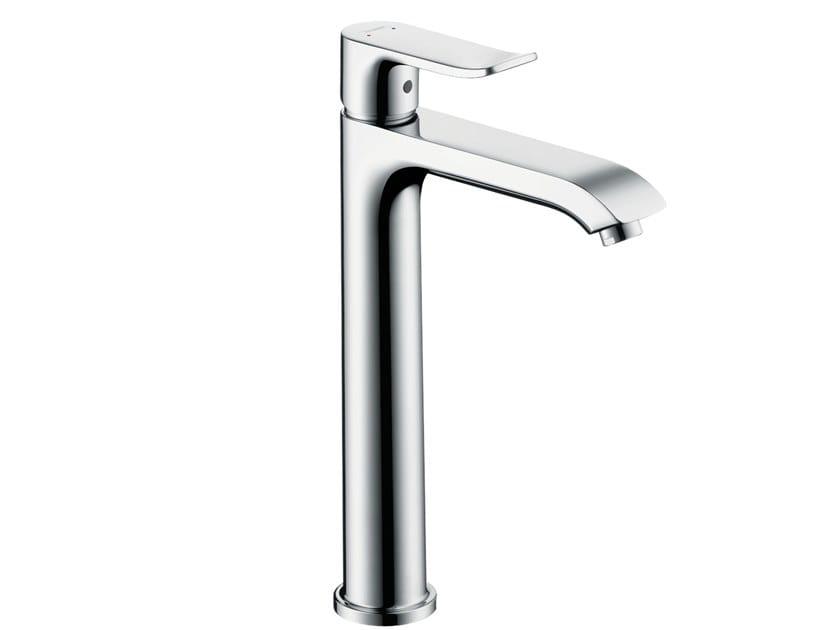 Single handle chromed brass washbasin mixer METRIS 200 | Washbasin mixer by hansgrohe