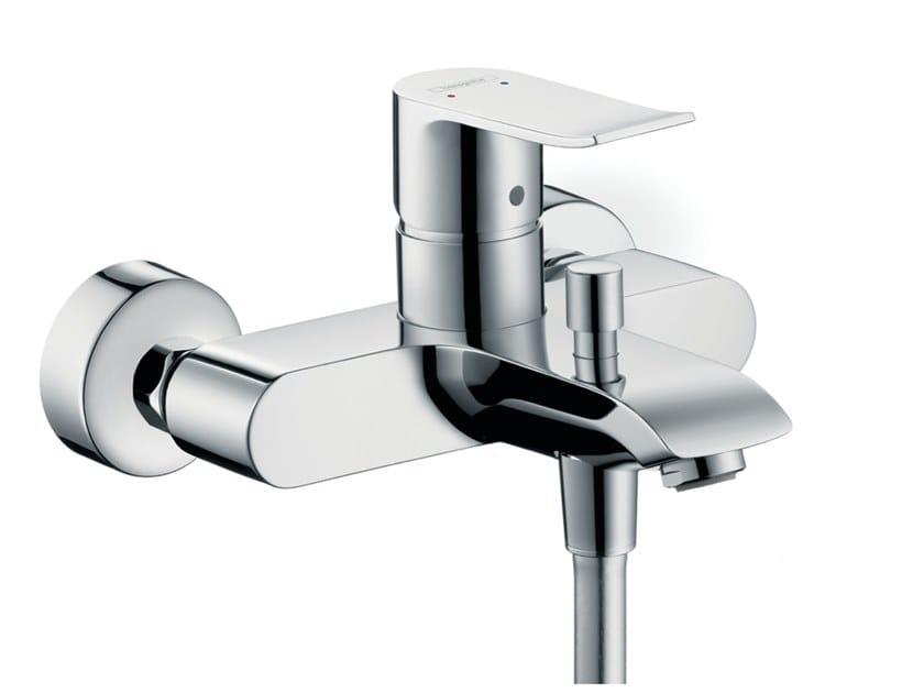 External single handle bathtub mixer METRIS | Bathtub mixer by hansgrohe
