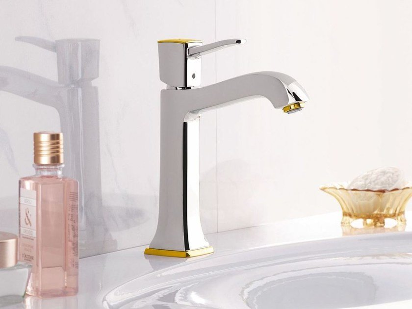 1 hole washbasin mixer with flow limiter METROPOL CLASSIC | 1 hole washbasin mixer by hansgrohe