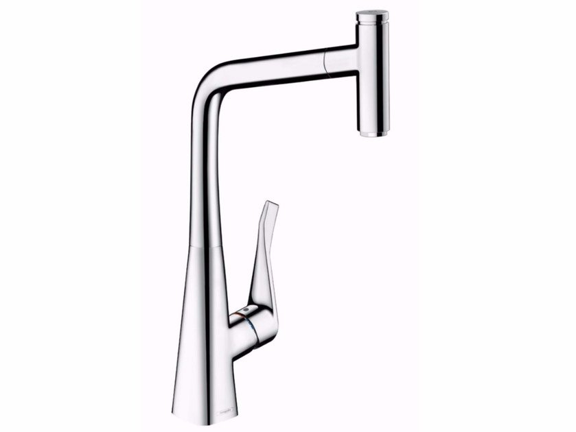 METRIS SELECT | Kitchen mixer tap with pull out spray Metris Select ...