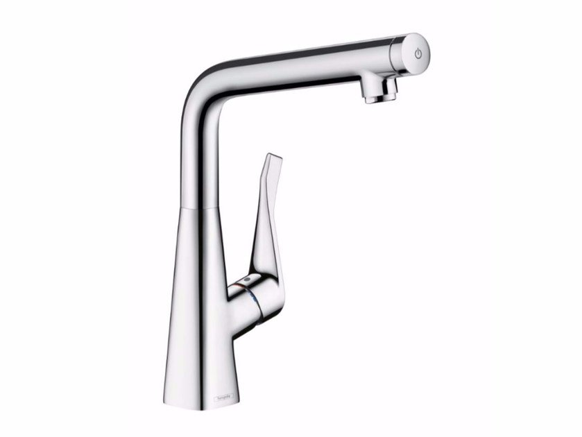 Countertop 1 hole kitchen mixer tap METRIS SELECT | Kitchen mixer tap by hansgrohe