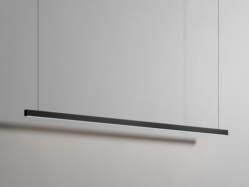 Lampada a sospensione in metallo METROLINEARE | Lampada a sospensione by Rexa Design