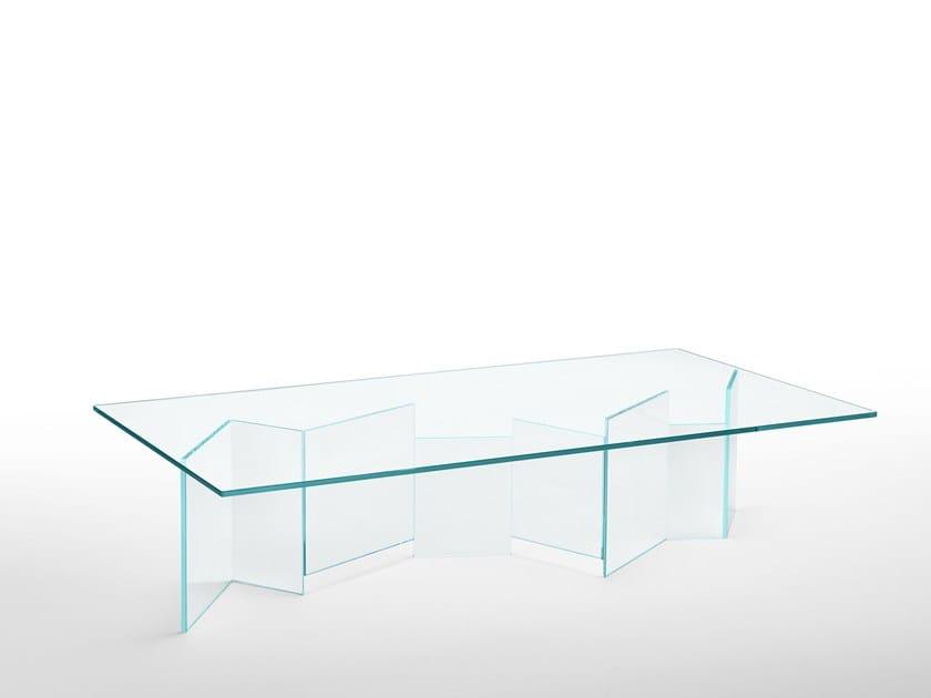Rectangular coffee table METROPOLIS | Rectangular coffee table by Tonelli Design