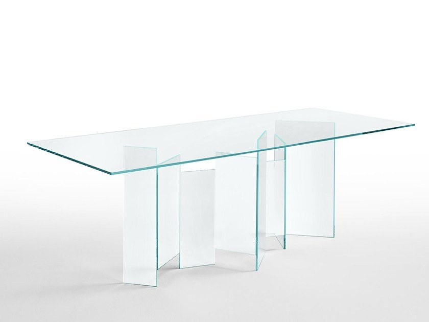 Rectangular dining table METROPOLIS | Rectangular table by Tonelli Design