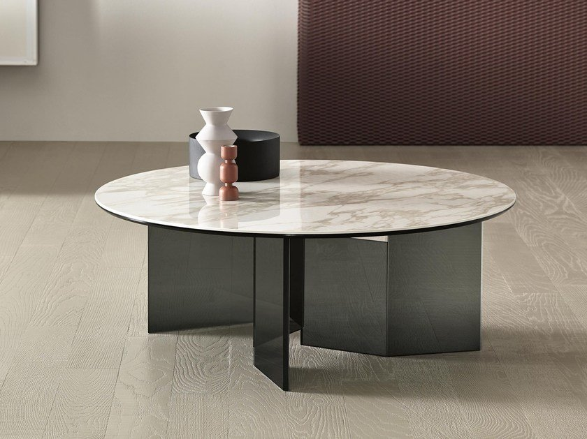 Round coffee table METROPOLIS | Round coffee table by Tonelli Design