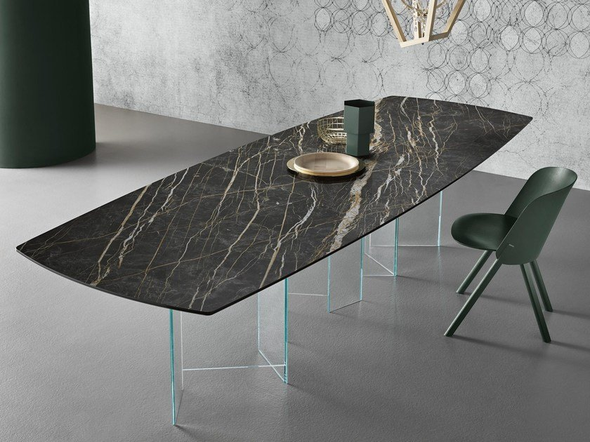 Rectangular dining table METROPOLIS | Table by Tonelli Design